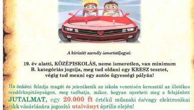 Veszprém megye legjobb autósa - verseny
