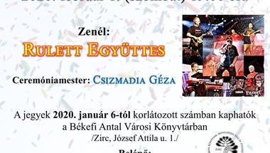 X. Zirci Farsangoló bál - 2020. február 1.