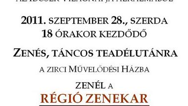 ZENÉS, TÁNCOS TEADÉLUTÁN