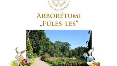 """Arborétumi """"Füles les"""" - 2019. április 22., hétfő"""
