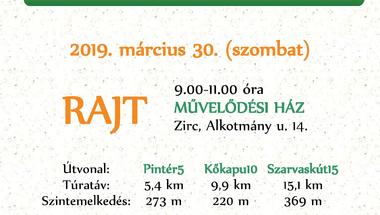 "ZIRC30 - ""Tavaszköszöntő"" túra"