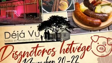 Falusi disznóvágás – disznótoros hétvége - Zirc, 2020. november 20-22.