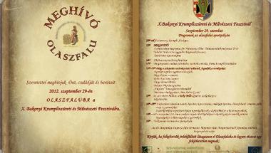 X. Bakonyi Krumpliszüreti és Művészeti Fesztivál