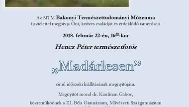 Új időszaki kiállítás a MTM Bakonyi Természettudományi Múzeumban
