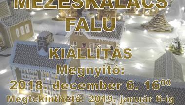 Zirci Mézeskalácsfalu - 2018. december 6