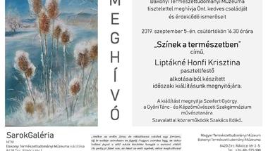 """""""Színek a természetben"""" című kiállítás-2019. szeptember 5., csütörtök"""
