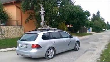 Ma Zircen járt a HERE utcafényképező autója. Mi az a HERE?