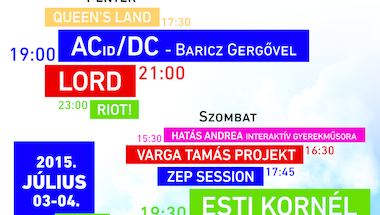 XXV. Zirci Buli - a család és barátság fesztiválja