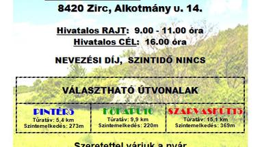 """Zirc30 """"Nyárköszöntő"""" túrák - 2015. június 6."""