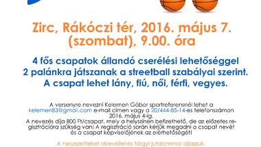 III. Zirci Streetball