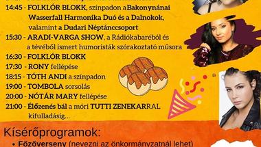 XI. Gombócfesztivál és nána nevű települések találkozója - 2019. augusztus 17.