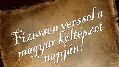 Fizessen verssel a magyar költészet napján! - Veszprémben