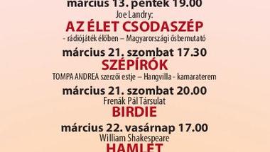 Pannon Várszínház - márciusi program - Veszprém