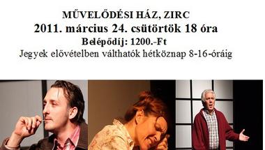 A Budapesti Kamaraszínház előadása Zircen