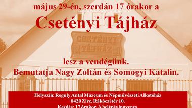 """""""Bakonyi témák"""" sorozat a Reguly Antal Múzeum és Népművészeti Alkotóházban"""