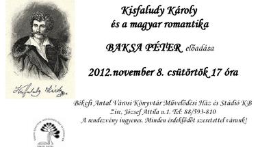 Kisfaludy Károly és a magyar romantika