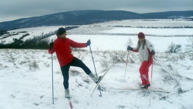 Újabb sportág a téli Bakony kínálatában
