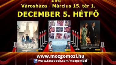 Mozgó Mozi - december