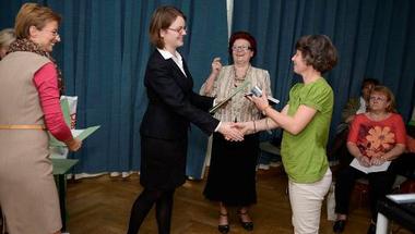 A zirci tanárnő munkáját is elismerték