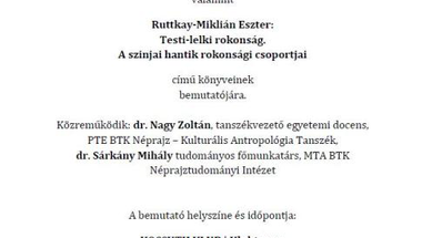 Ruttkay-Miklián Eszter könyvbemutatója a Kossuth Klubban