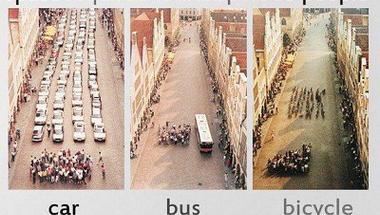 Hatszor drágább autóval közlekedni, mint biciklivel - Gyalogos- és kerékpárosbarát város