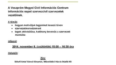 Civil információs nap
