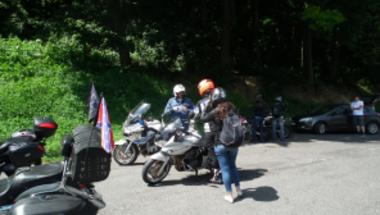 Közlekedésbiztonsági akció a Bakonyban