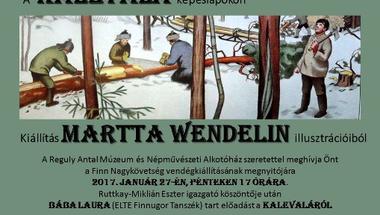 Kalevala-kiállítás a Reguly Múzeumban