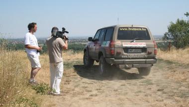GPS pontkereső autóverseny Budapesttől Nagyesztergárig