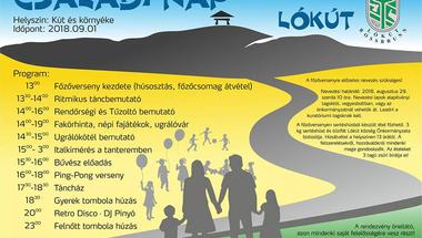 Családi nap Lókúton - 2018. szeptember 1.
