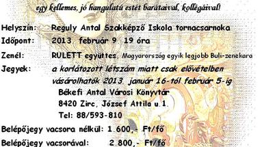 III. Zirci Farsangoló Bál