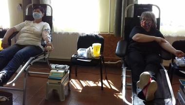 Vészhelyzetben is sokan adtak vért
