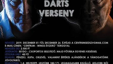 Évzáró nyílt steel darts verseny - Zirc, 2019. 12.28., szombat , 10 óra
