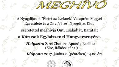 Kórusok Egyházzenei Hangversenye