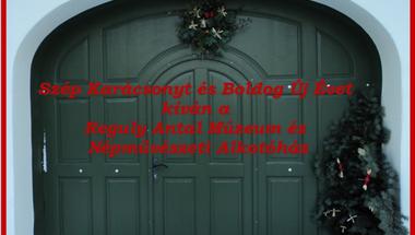 Karácsonyi üdvözlet a Reguly Antal Múzeumból