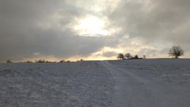 Az első igazi téli reggel