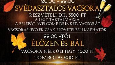 Jótékonysági bál - az ovi támogatására - Zirc, 2017. november 11., szombat