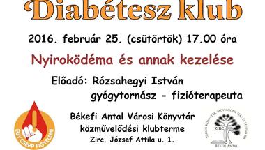 Februári Diabétesz Klub