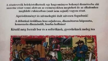 Pénzesgyőri disznóságok - III. Hagyományos disznótor -2020.02.29., szombat