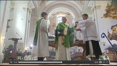 Szentmise a bazilikában