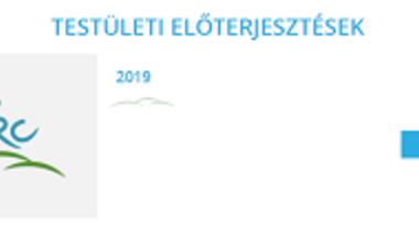 A 2019. június 27-i képviselő-testületi ülés programja