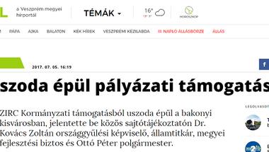 """Uszodasztori 10. rész - """"Még közbeszerzést sem írtak ki rá (12): ... Zirc"""""""