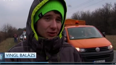 Zirciekkel ütközött a kamion az eplényi balesetben