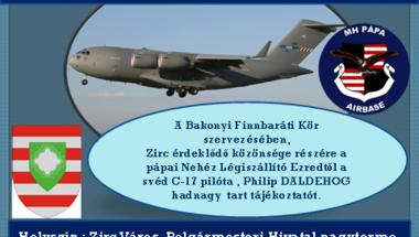 C-17 Globemaster Zirc fölött