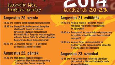 Kultúr-Fröccs-Fesztivál - Móron