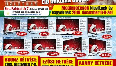 Rekord-os Mikulás :) - Zirc, 2019. dec. 6-8-án