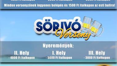 Vizespóló- és sörivó verseny - augusztus 8., szombat - ZIrc