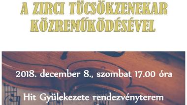 Mendelssohn Kamarazenekar koncertje a Zirci Tücsökzenekar közreműködésével