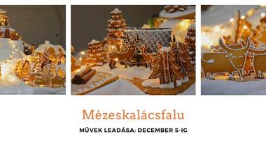 Mézeskalácsfalu - új, nagyon aktuális tartalomtémával, sok segítséggel - 2019. december