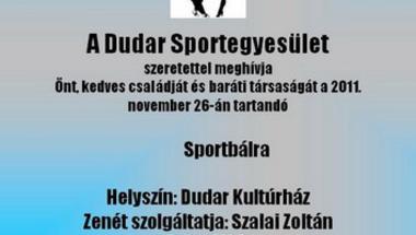 Sportbál - Dudaron